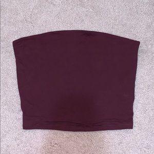 Purple Tube Top